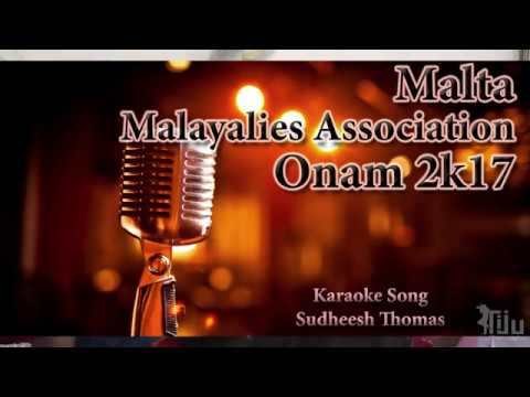 Malta Malayalee's Association Onam Celebration 2017 - Karaoke Song