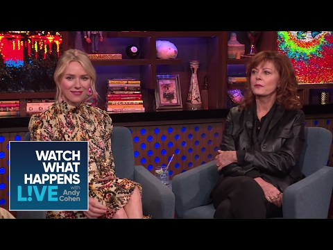 Naomi Watts And Susan Sarandon Stole From Their Designers?  WWHL
