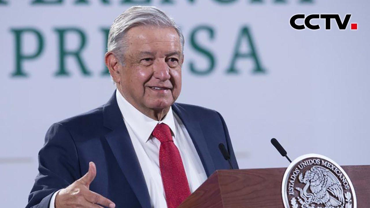 墨西哥总统洛佩斯确诊感染新冠病毒|《中国新闻》CCTV中文国际- YouTube