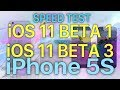 Speed test : iOS 11 Beta 1 vs iOS 11 Beta 3? How much progress has Apple made in 2 releases.