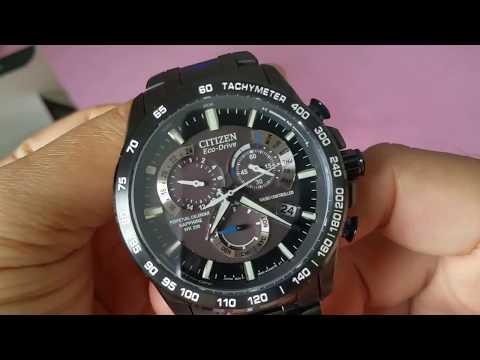 Citizen AT4007-54E Eco-Drive Perpetual Chrono AT Mens Watch