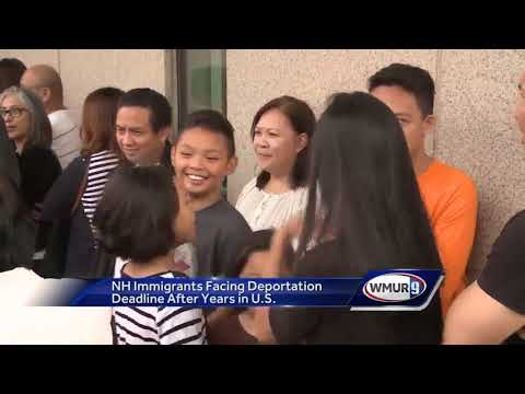 NH immigrants facing deportation deadline after years in U.S.