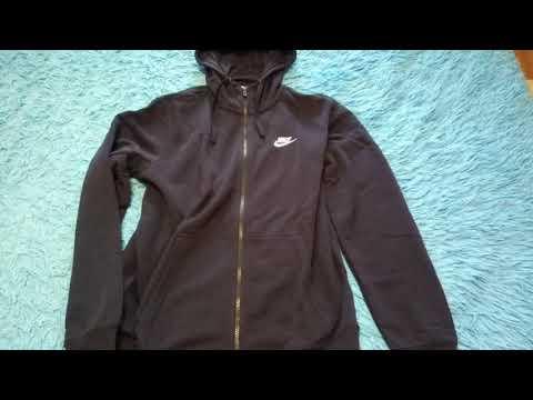 ОНЛАЙН ТРЕЙД.РУ Худи NIKE 804391-451 Sportswear Hoodie мужская, цвет синий, размер 46-48