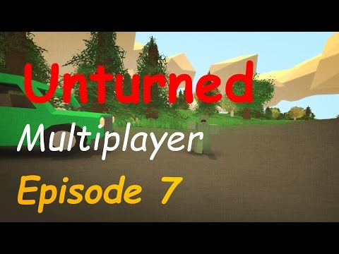 "Let's Play Unturned | Multiplayer - Episode 7: ""Airport!"" (Dansk)"