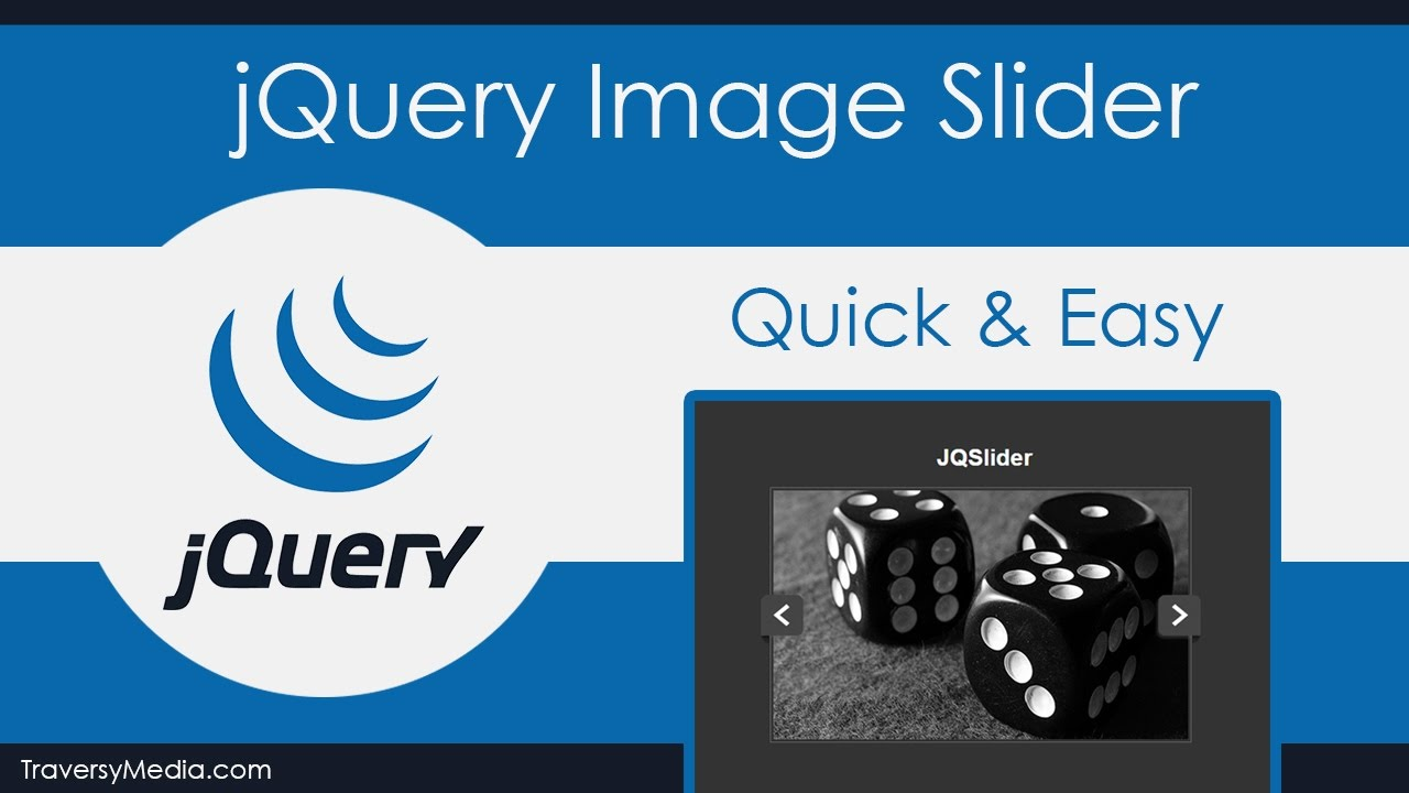 jQuery Image Slider - Quick & Easy - YouTube