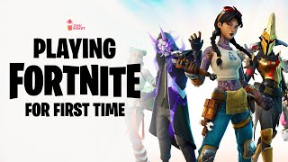 Playing Fornite for First Time | Chai Bisket Gaming | Chai Bisket