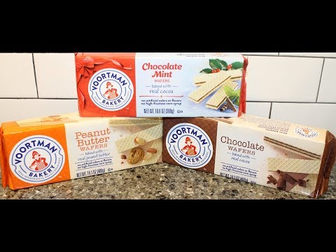 Voortman Bakery: Chocolate Mint, Peanut Butter and Chocolate Wafers Review