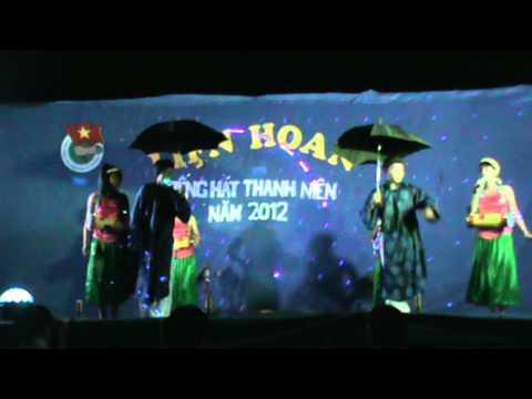Hát múa Trống cơm - Nhóm múa Thiên thần, giọng ca Minh Nguyệt...hehe
