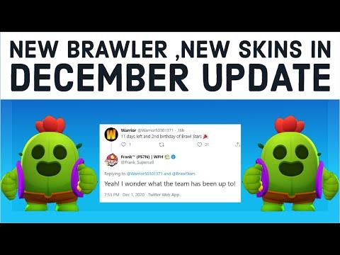 *DECEMBER UPDATE INFO* - NEW BRAWLER - OLD MAPS - PRESENT PLUNDER -  NEW SKINS - BRAWL STARS NEWS