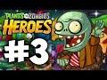 Прохождение Plants vs Zombies Heroes - Часть 3. Зомби победили