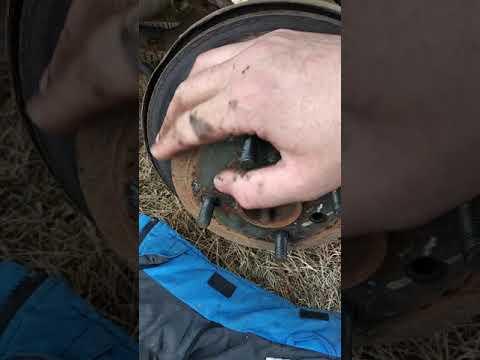 Регулировка ручника на лачетти