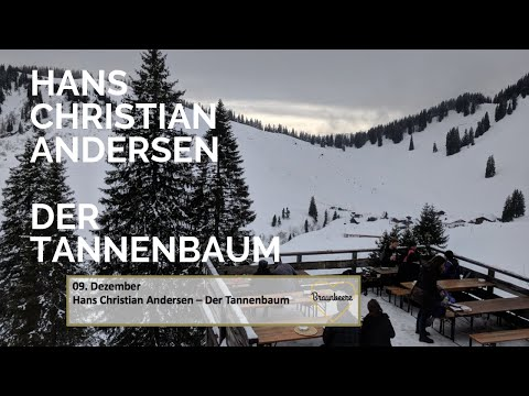 Andersen Der Tannenbaum.9 Dezember Hans Christian Andersen Der Tannenbaum Adventskalender