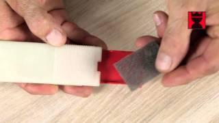 Měkký barevný vosk pro opravu drobných poškození na nábytku