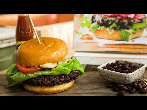 America's Test Kitchen Black Bean Burgers – Hallmark Channel