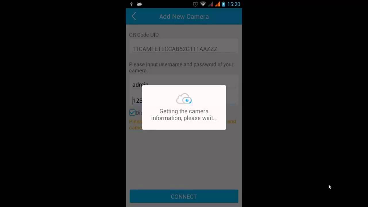 How to add the camera via P2P to Foscam App for Android