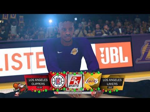 LA Lakers VS LA Clippers  Second Half