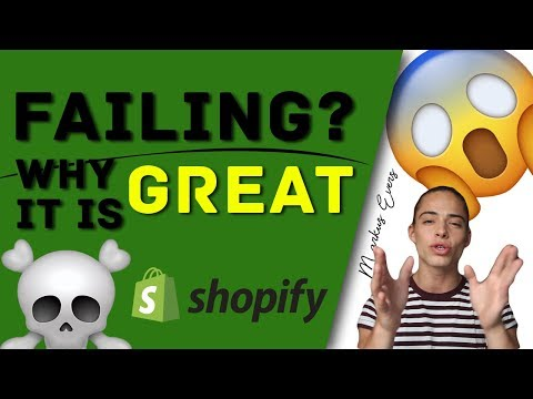 Why It Is GREAT To Fail In Dropshipping/E-Commerce