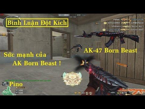 Bình Luận CF | AK-47 Born Beast | AK VIP Rồng Đen Mắt Đỏ ✓ | *»..Pïñö..«* |