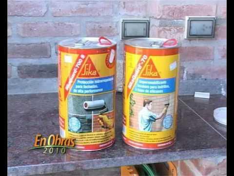 Impermeabilizaci n ladrillos vistos ing j moreira ross for Productos sika para piscinas