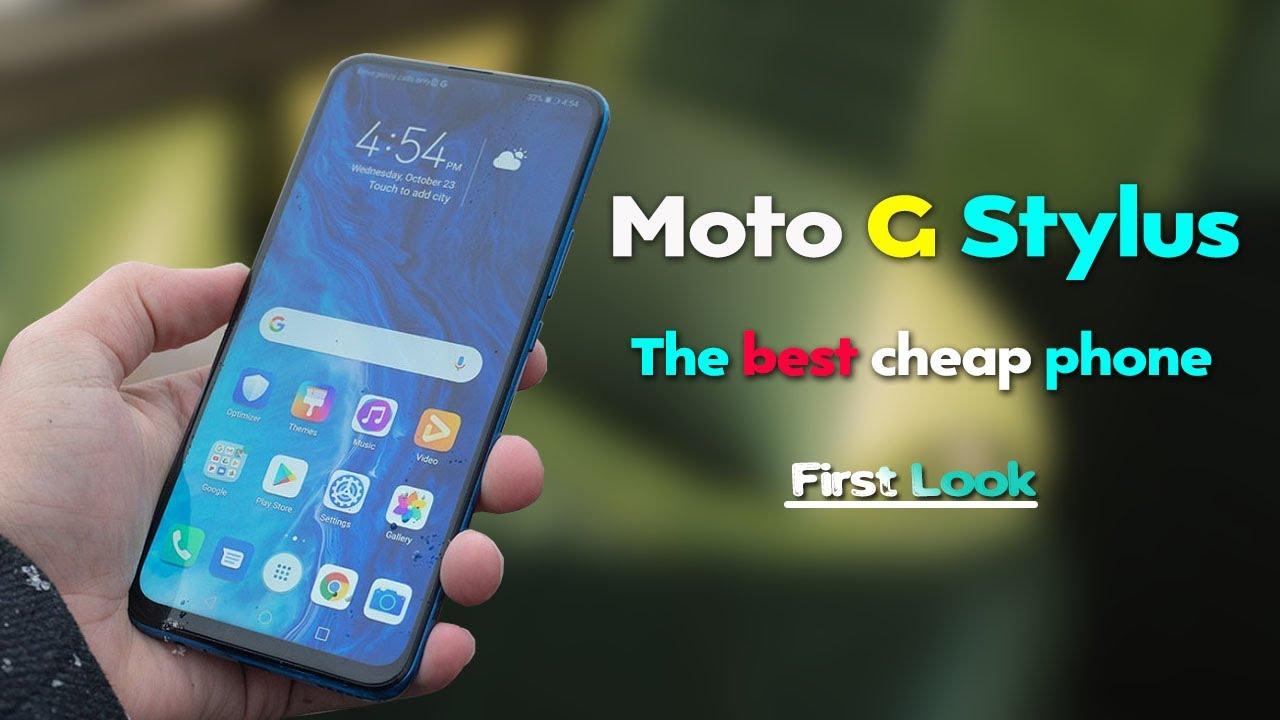 Moto G Stylus - Sabse Sasta Smartphone? Launch Date, Price, Specs | Moto G Stylus Unboxing & Rev
