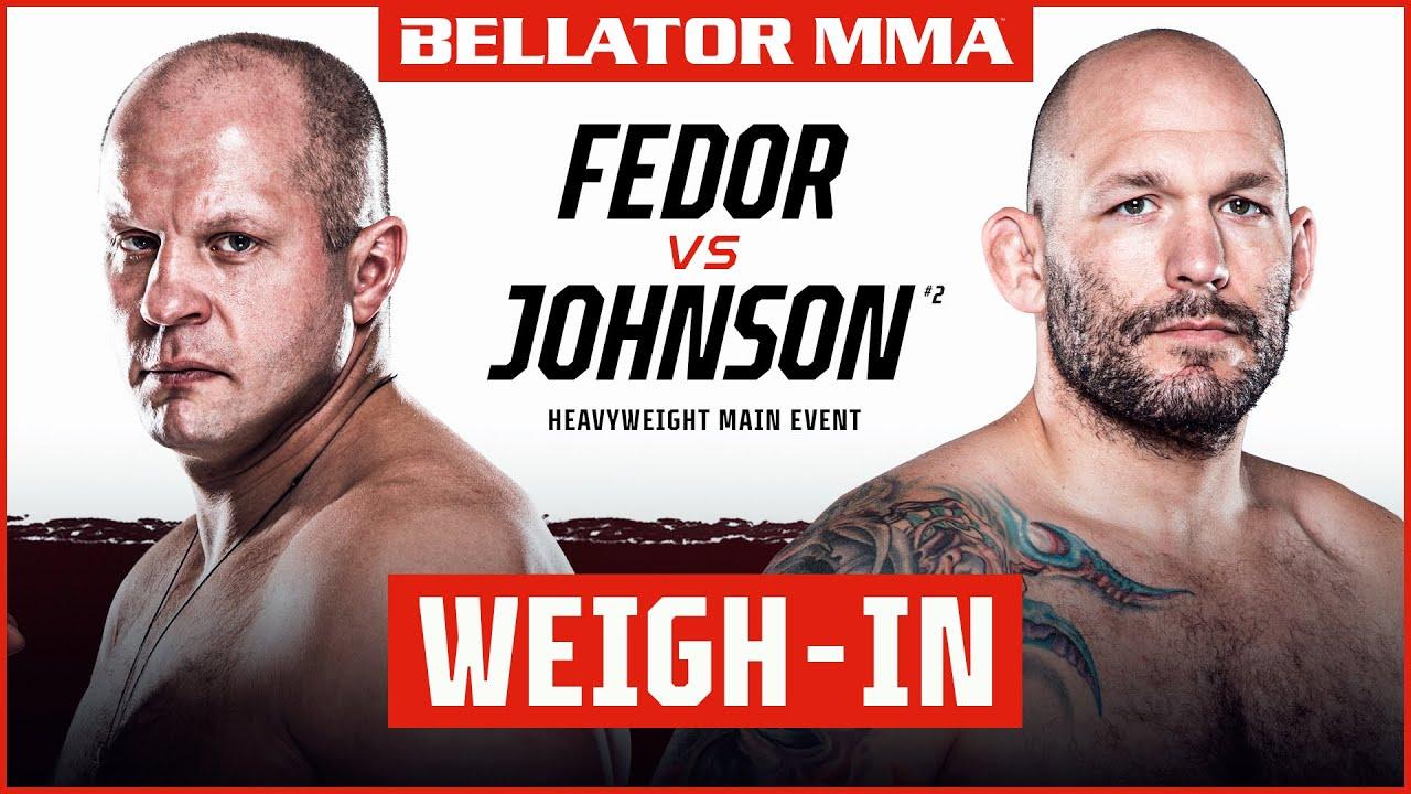 Download Weigh Ins | Bellator 269: Fedor vs. Johnson