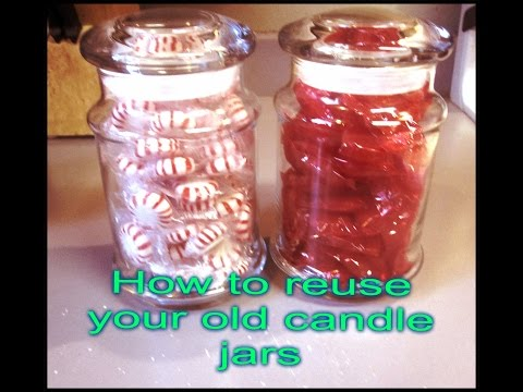 STOP!!! Don't throw away your candle jars