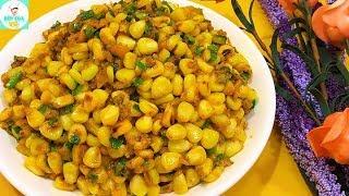 BẮP XÀO TRỨNG MUỐI | Món ăn làm nức lòng tín đồ ăn vặt | Bếp Của Vợ
