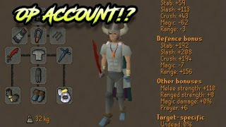 THE PURE DESTROYER! - Insane Low Level Zerker Pure 15 Pray Pking - Oldschool Runescape 2007