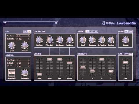 Lokomotiv VST by Archetype Instruments