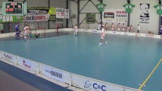 25. 2. 2018 JEX 2. štvrťfinále play off, Tsunami Záhorská Bystrica - FK Florko Košice, Slovenský zväz florbalu