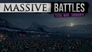 samurai defend helms deep massive battles