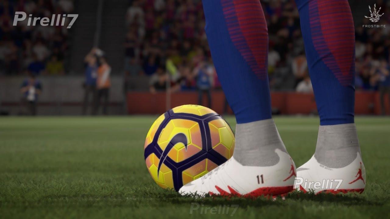 FIFA 17: Neymar's New Boots |Nike Hypervenom NJR X JORDAN| - Goals/Skills -  by Pirelli7 - YouTube