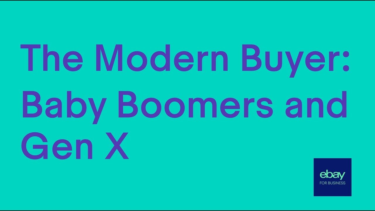 The Modern Buyer: Baby Boomers and Gen X - YouTube