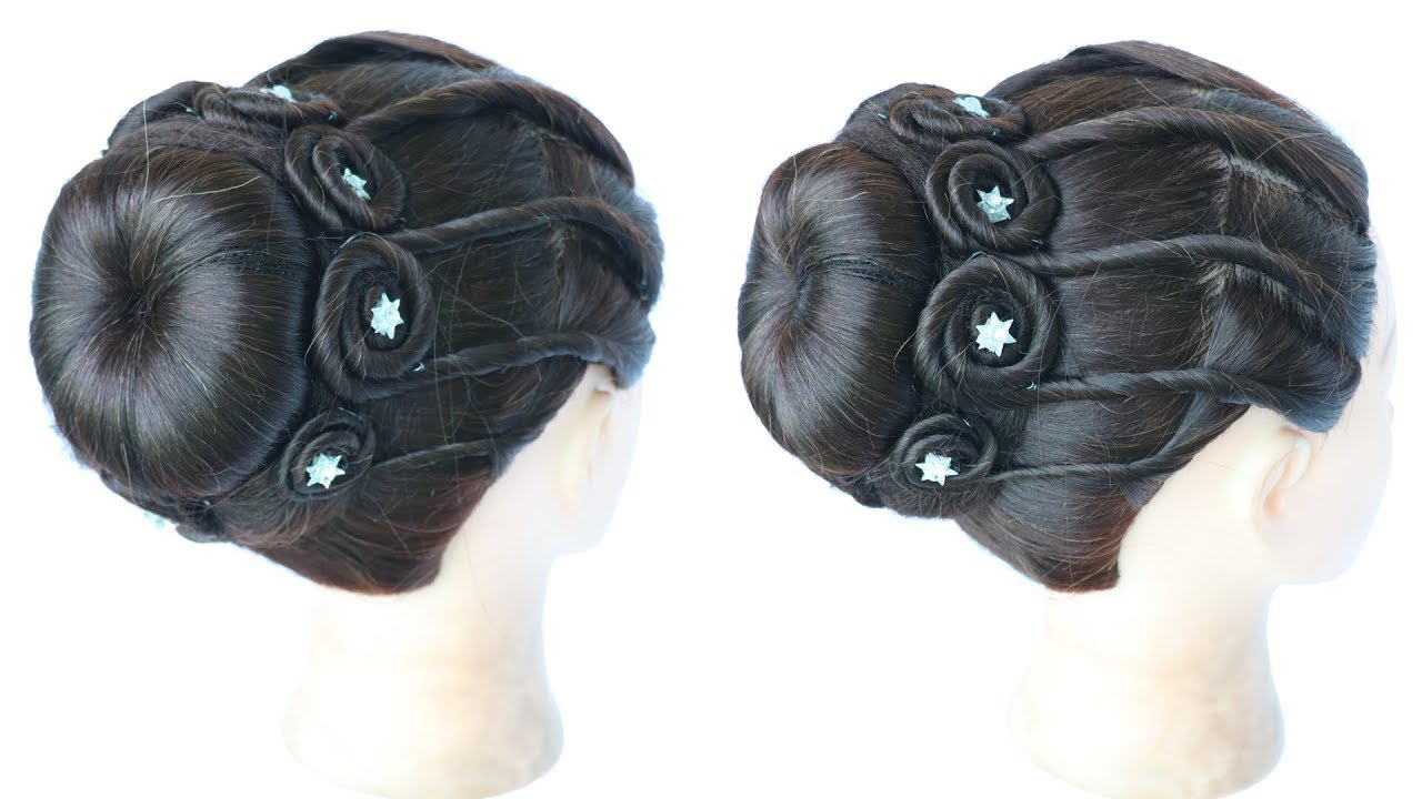 beautiful and easy juda hairstyle
