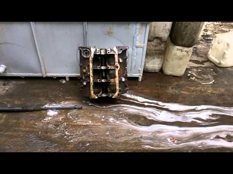Desengrasante para motores de for Reparar banera picada oxido