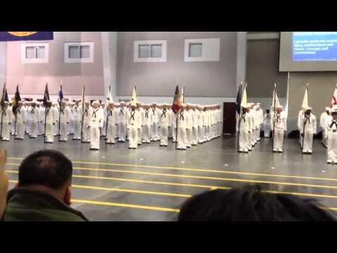 US Navy Boot Camp Graduation Sailor