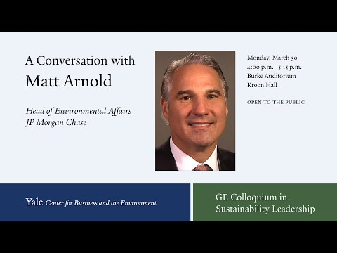 A Conversation with Matt Arnold on the Evolution of Sustainable Finance