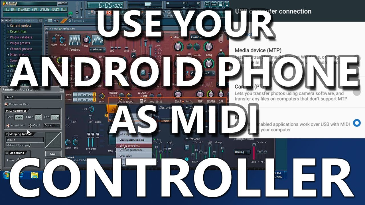 Android 6 Mobile As Midi Controller Usb To Youtube Pt 2 Making Your Own Host Cable Beyond The Keyboard