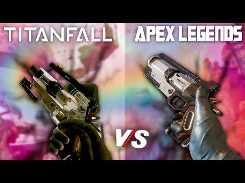 APEX VS TITANFALL 2 *Reacción*