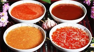 How to make 4 common sauces