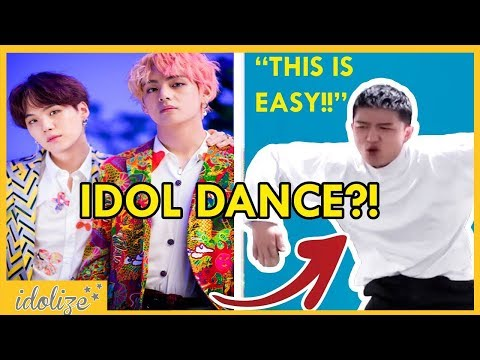 BTS IDOL DANCE CHALLENGE - ASIAN AMERICANS TRY LEARNING KPOP DANCE CHOREOGRAPHY - 學BTS IDOL舞蹈挑戰 thumbnail