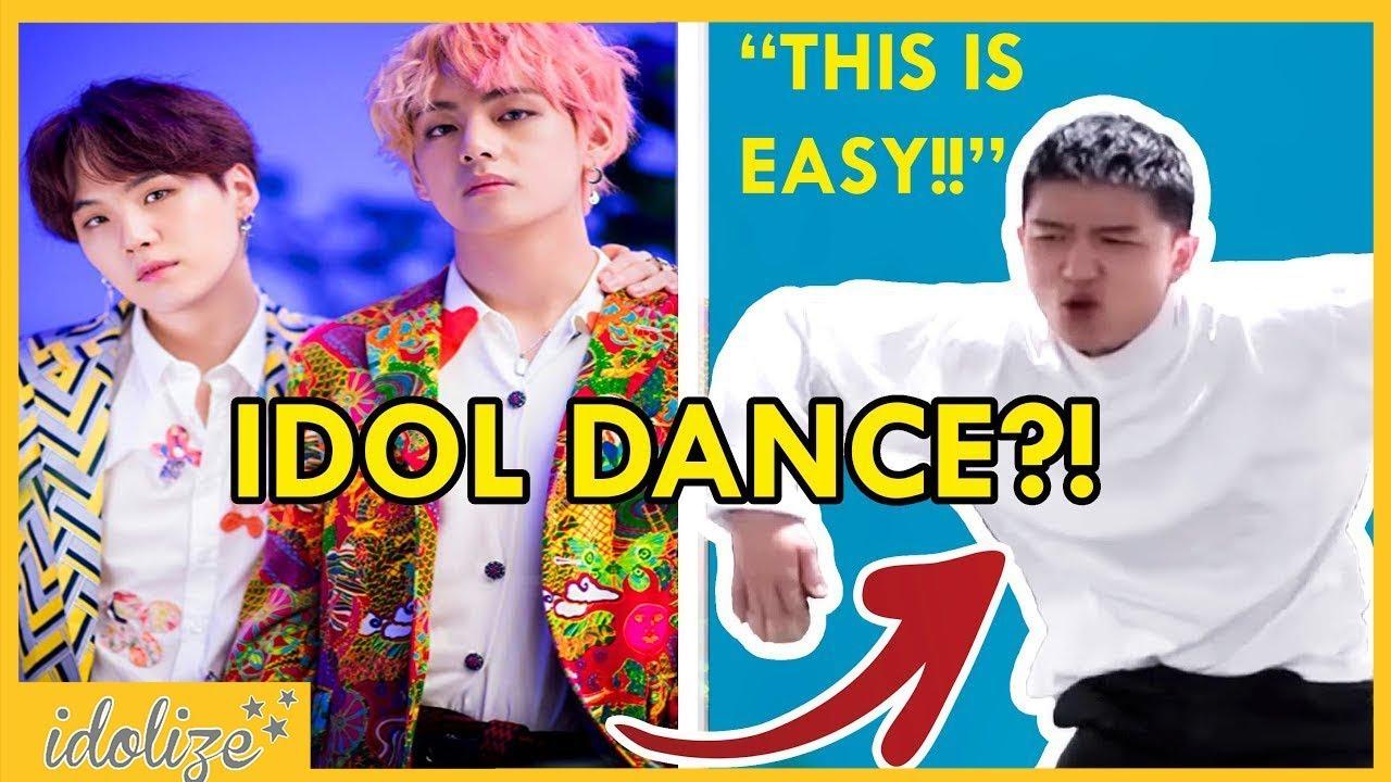 Bts Idol Dance Challenge Asian Americans Try Learning Kpop Dance Choreography Bts Idol