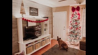 Decorate & Clean with Me for CHRISTMAS 2018! | Summer Whitfield