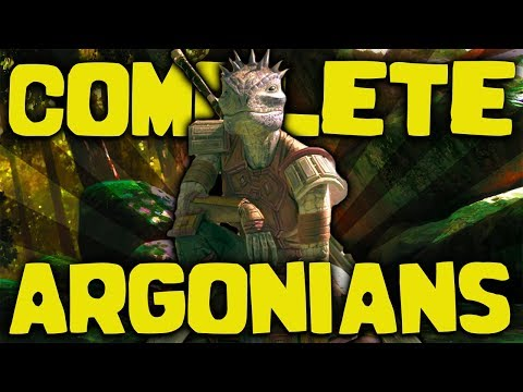 Skyrim - The COMPLETE Guide To The Argonians - Elder Scrolls Lore