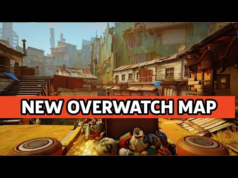 Overwatch - Junkertown Escort Map Overview Trailer