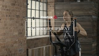 Reebok GT40s Treadmill, Jet 100s Crosstrainer and Bike with Alice Liveing