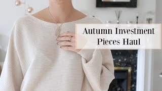 Autumn Investment Pieces - PREMIUM HIGH-STREET HAUL!   |   Fashion Mumblr