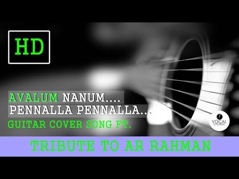 Avalum Nanum Guitar Cover song  (Acham yenbathu madamaiyada.AR Rahman.)2016