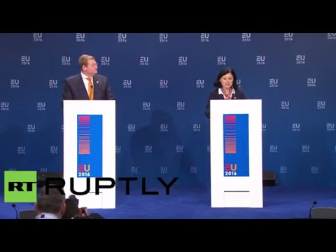 EU Ministers discuss Schengen zone suspension