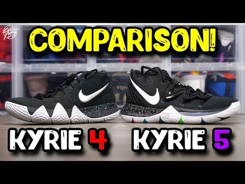 03ec349b687978 Nike Kyrie 5   Kyrie 4 Comparison! The Sole Brothers